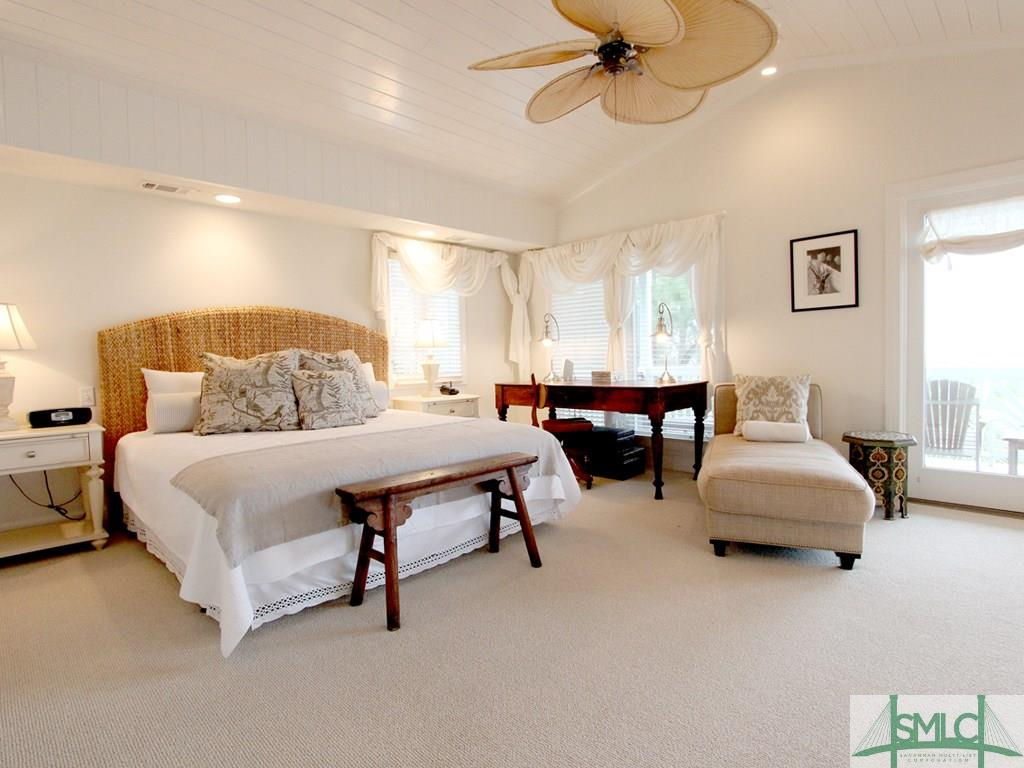 Sandra Bulllock Tybee Island Beach House for sale - Guest House Bedroom