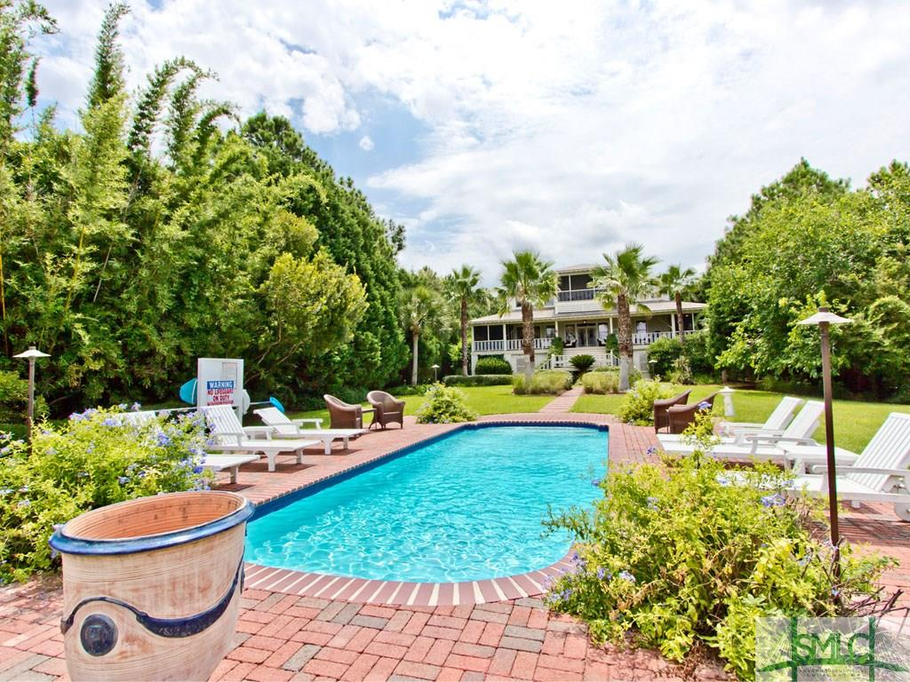 Sandra Bulllock Tybee Island Beach House for sale - Pool