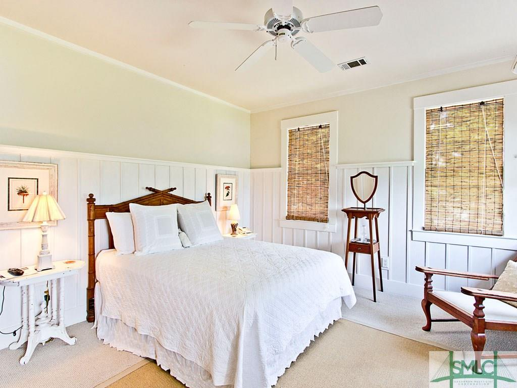 Sandra Bullock's Tybee Island Beach House for sale - Bedrooms
