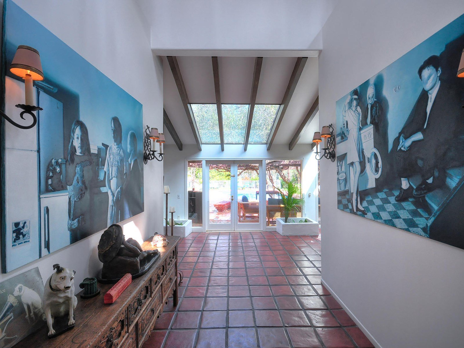 Sean Penn Malibu CA Hacienda house for sale via Sothebyshomes