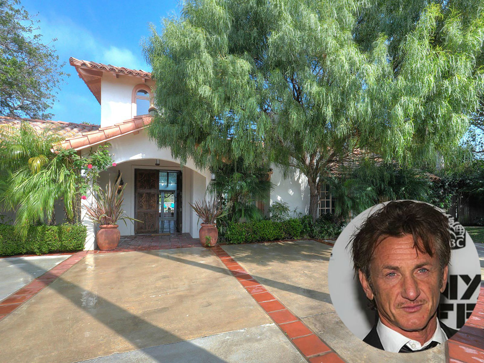 Sean Penn Malibu California House