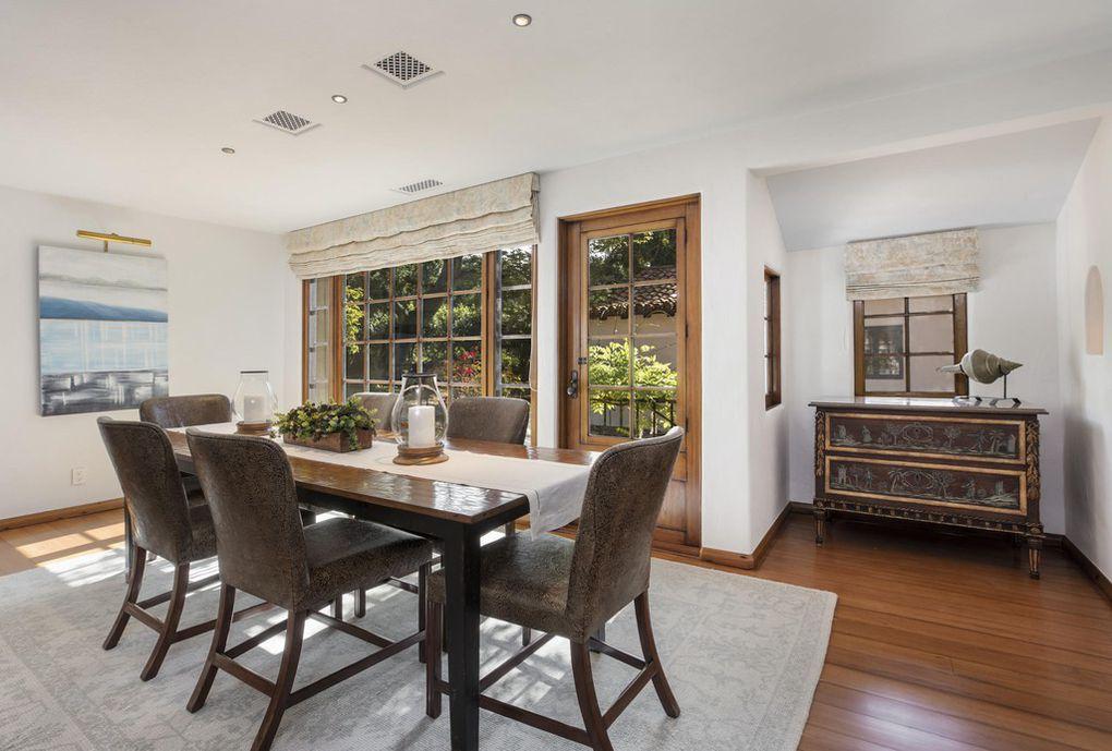 The Jeff Bridges home- Dining Room