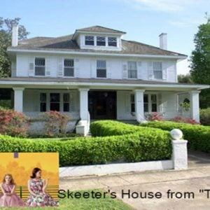 Skeeters House from The Help Movie 613 River Rd Greenwod, MS for sale