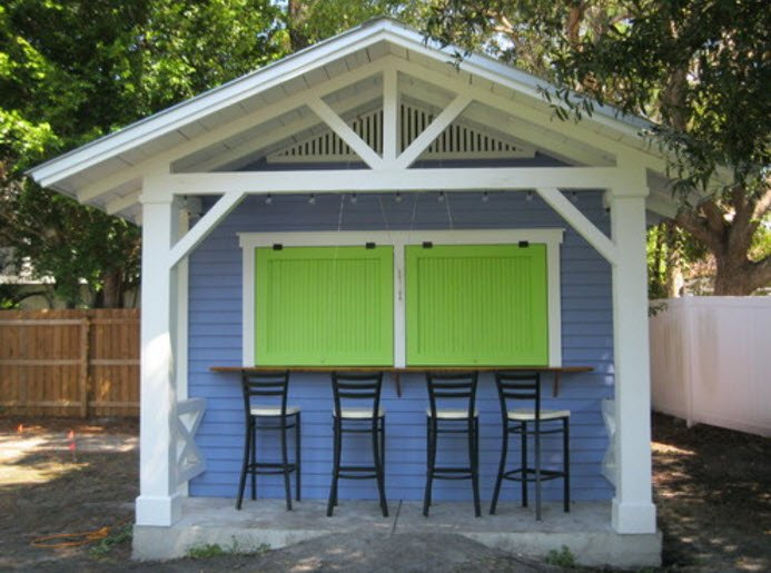 Snack Shack - a livable shed design idea