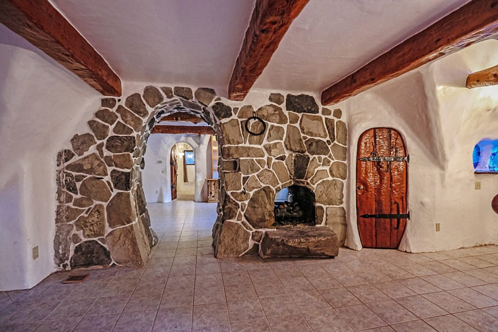 Snow White Cottage arched brick doorway