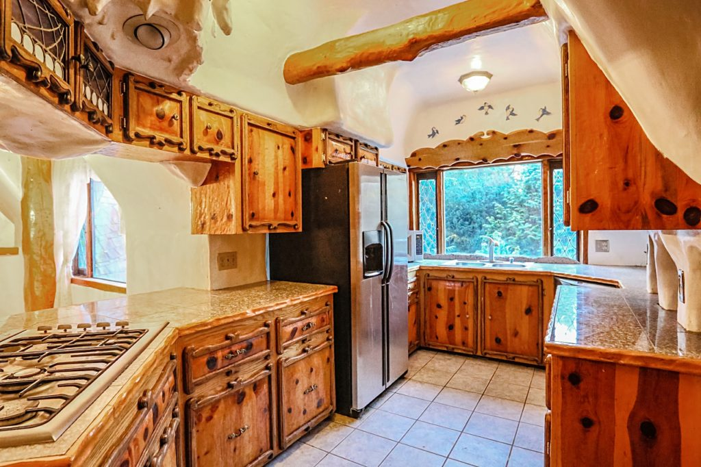 Snow White Cottage kitchen