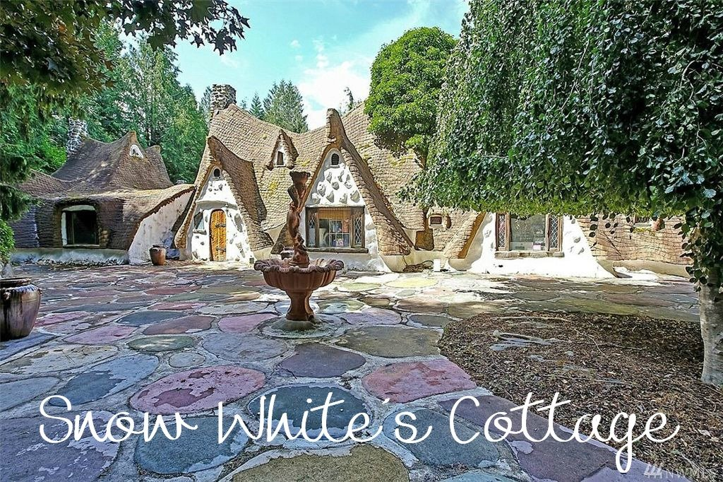 Snow White's Cottage - a magical fairy tale storybook home