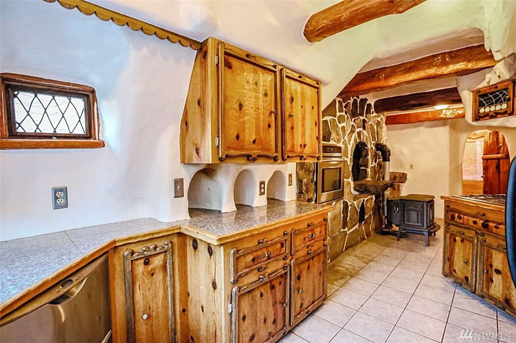 Snow White's Cottage kitchen is full of fairytale like details