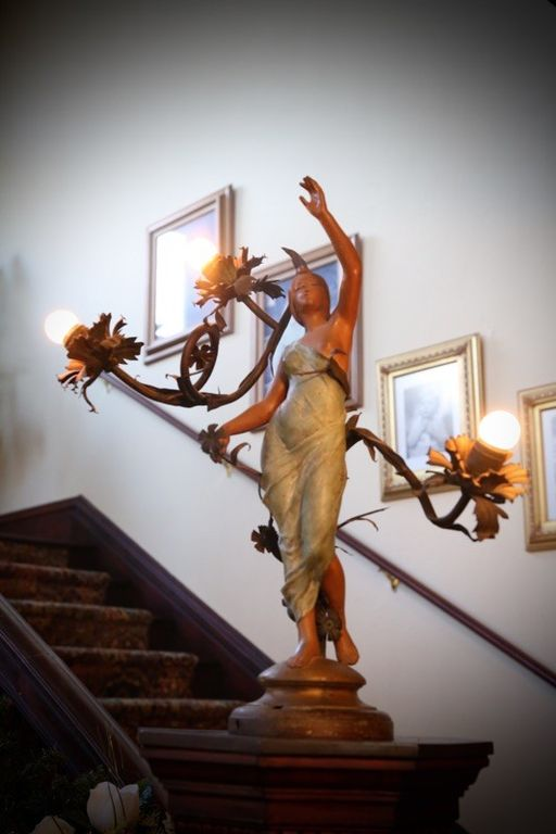Staircase column Lady ornament - The real Skeeter House from The Help movie for sale in Greenwood, MS