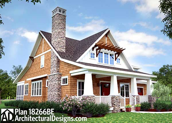 11 cottage house plans to love for Cottage house plans with porch