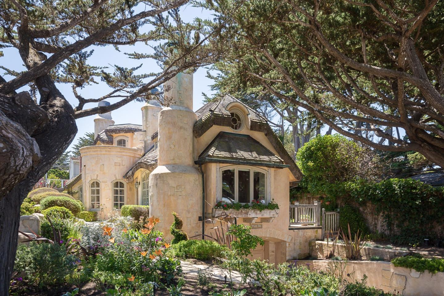 Storybook Cottage in Carmel Is A Dream Come True just steps from Carmel Beach for sale. Two bedrooms and two baths