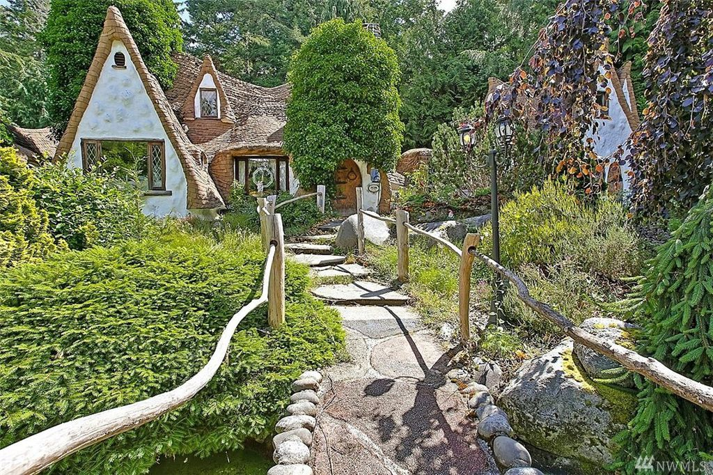 Storybook home Snow White's Cottage - you can own a fairytale