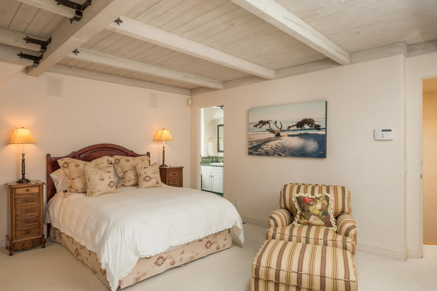 Storybook cottage in Carmel Ca for sale - One of the two bedrooms