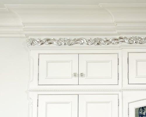 Elegant White Kitchen Cabinets This Kitchen Is Called French Vanilla