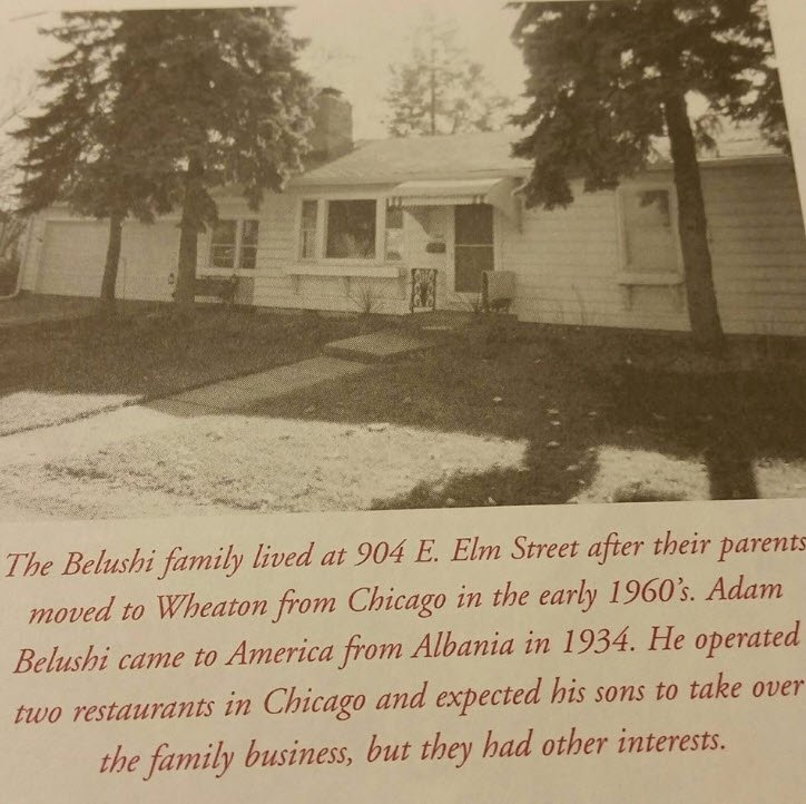 Belushi Brothers Childhood Home For Sale - The Family lived at 904 E Elm Street Wheaton IL