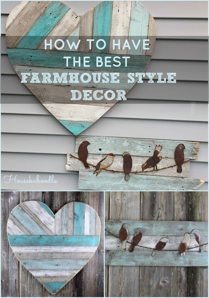How to have the Best Farmhouse Style Decor - Housekaboodle