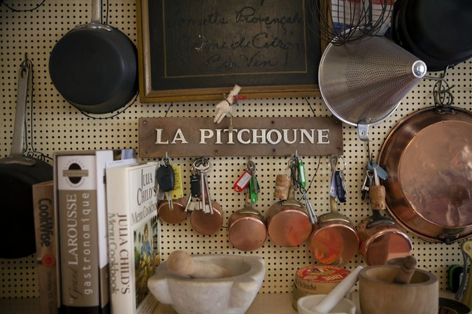 Julia Childs House in France, The House that Julia Built kitchen