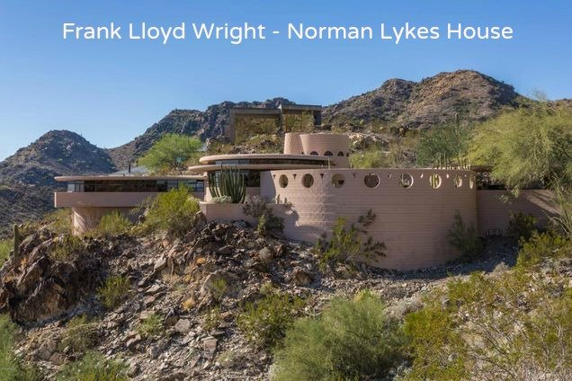 The Last Home Frank Lloyd Wright Designed is in Phoenix Arizona and is on the market