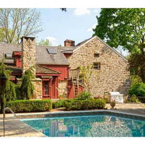 The Leap Year Barn Circa 1752 is a fairytale type home for sale in PA