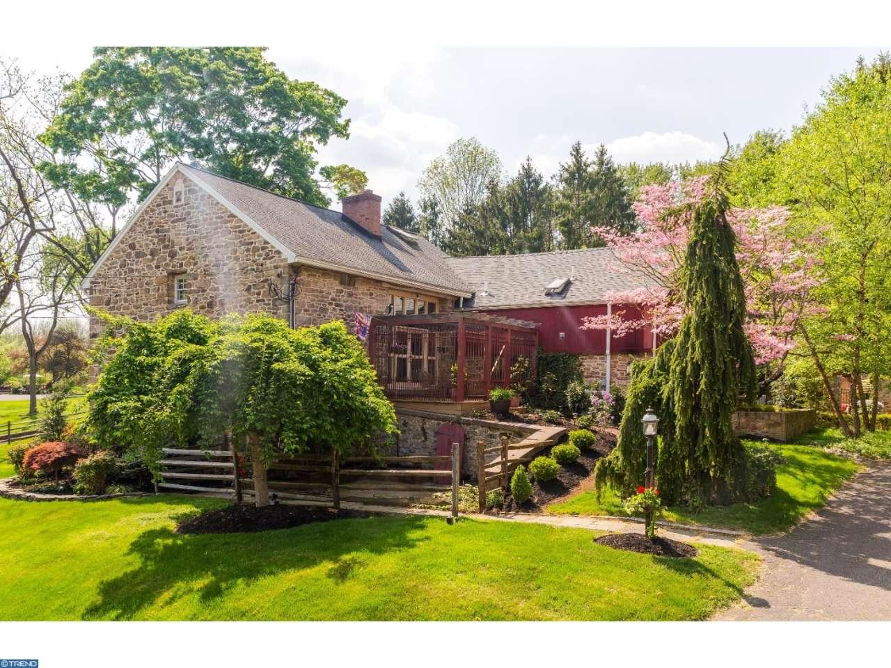 The Leap Year Barn a Storybook Masterpiece for sale in Doylestown PA - you will fall in love with this magical old world home