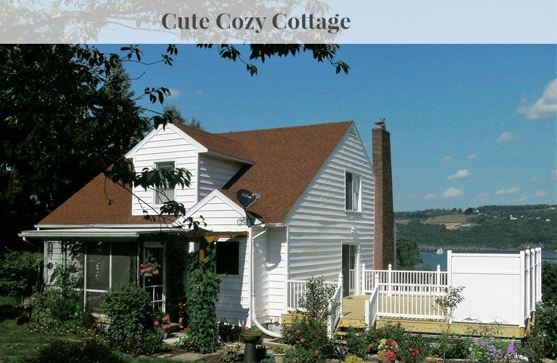 The most cozy cute cottage For Sale on Seneca Lake