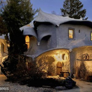 The Mushroom House in Bethesda Maryland