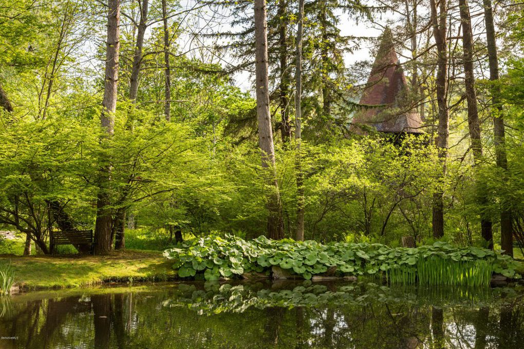 The Santarella Gingerbread House Estate in Tyringham MA for sale