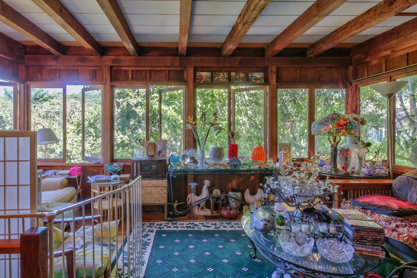 The sunroom - Carmel fairytale cottage for sale