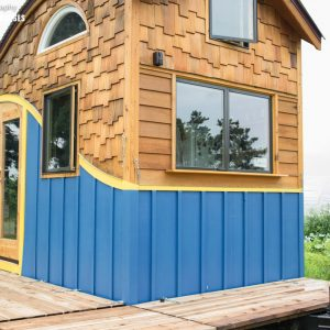 The whimsical Pequoid Tiny House