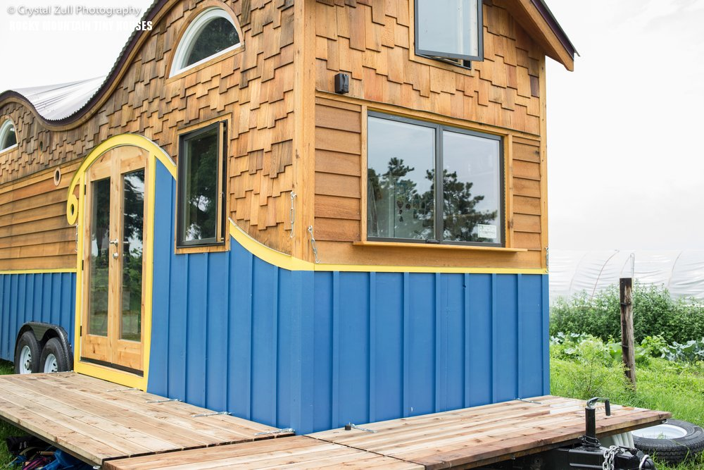 The whimsical Pequod Tiny House