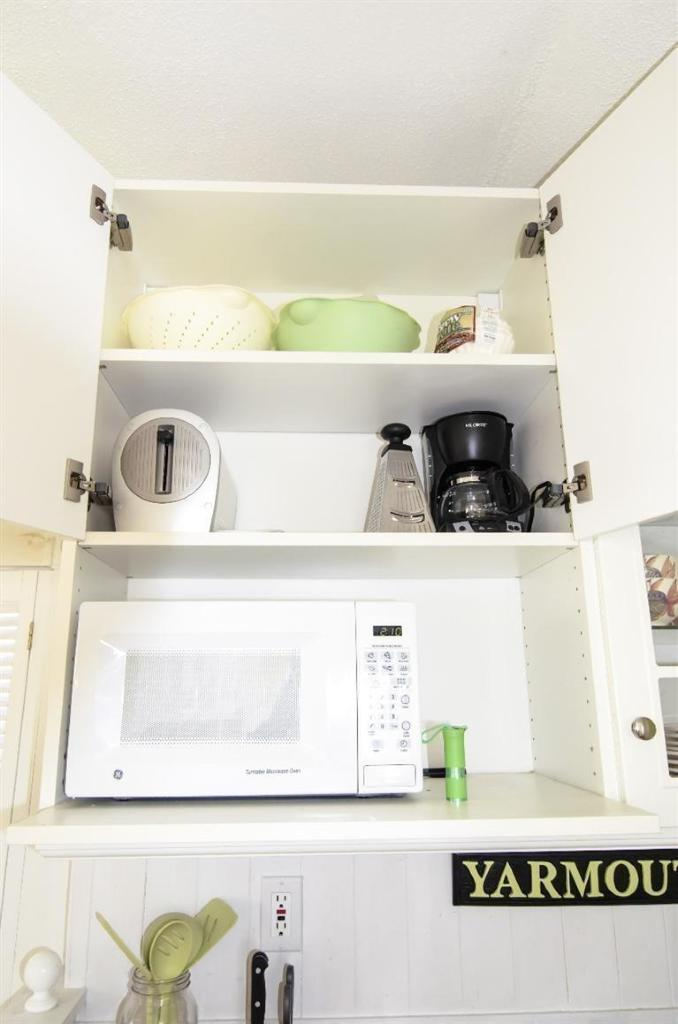 Tiny Cape Cod in MA - kitchen storage