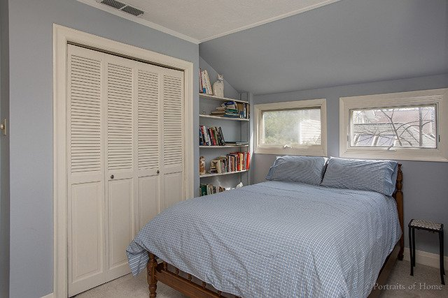 Tudor home bedroom - Keller Williams Realty