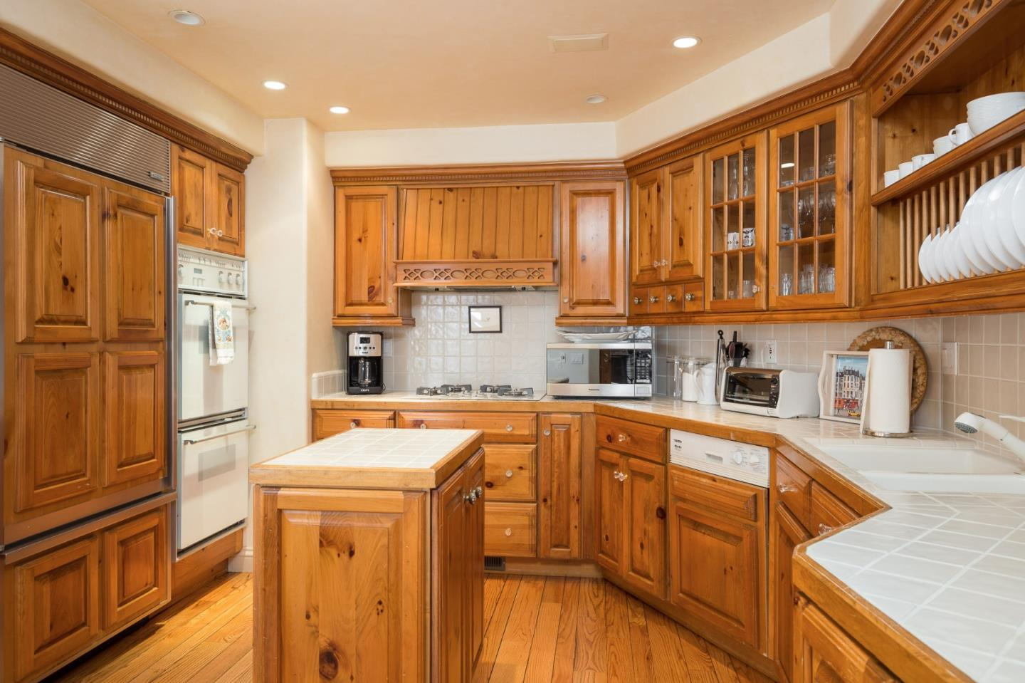 Two bedroom two bath storybook home for sale in Carmel CA - kitchenjpg