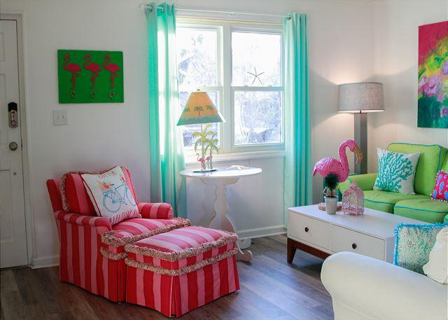 Coastal Joy Cottage - Tybee Island Mermaid Cottage Vacation Rental