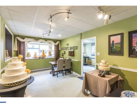 Unique home for sale in West Chester PA has a set up to work at home as a baker