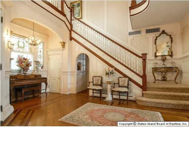 Victorian Home on Staten Island NY for sale - stairway