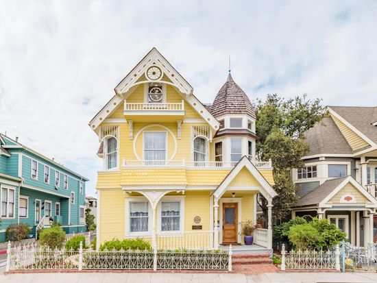 "A Sweet Victorian Yellow House: The ""Daffodil"""