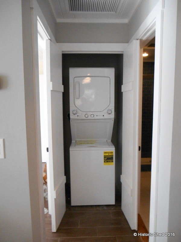 Washer Dryer closet