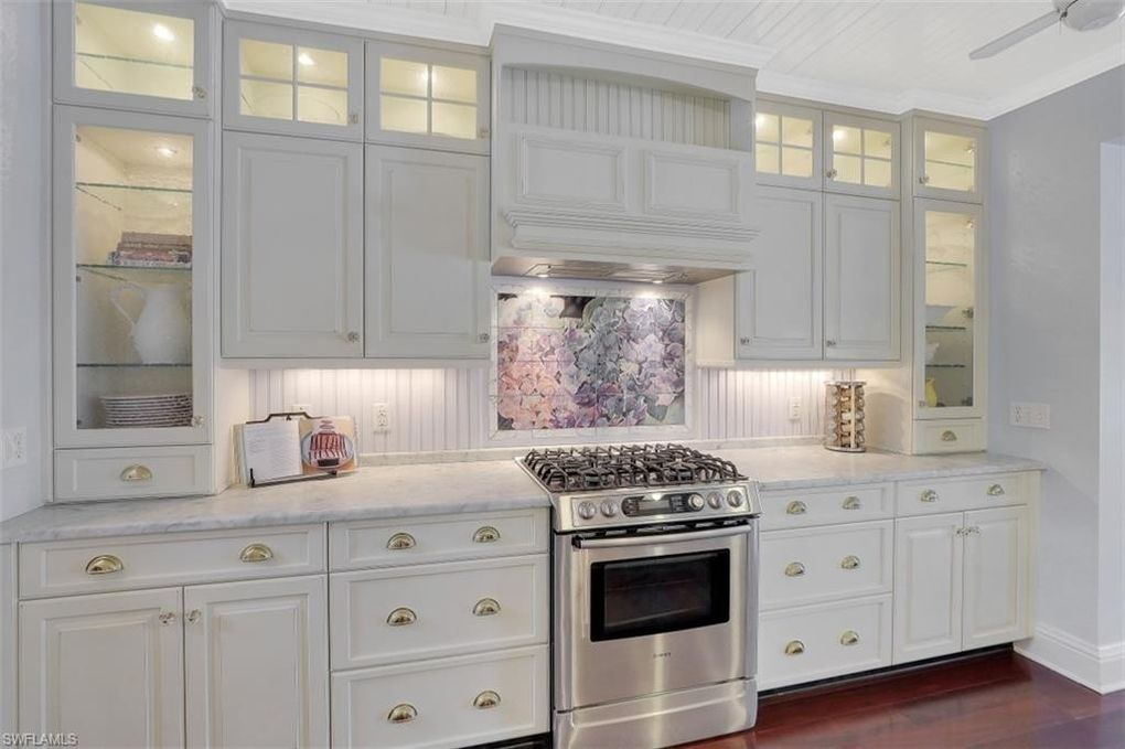 White Kitchen in the Naples Florida house for sale 780 9th St