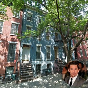 the-house-sits-on-a-tree-lined-street-in-nycs-chelsea-neighborhood 2