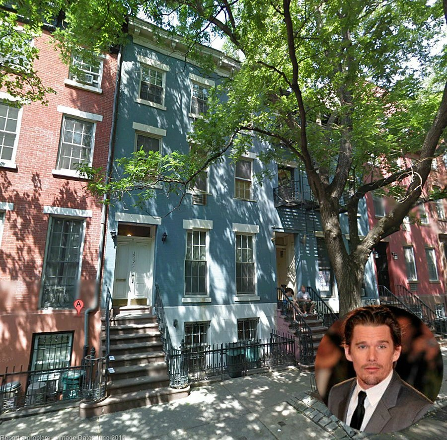 Ethan Hawke's NYC Manhattan Townhouse for sale